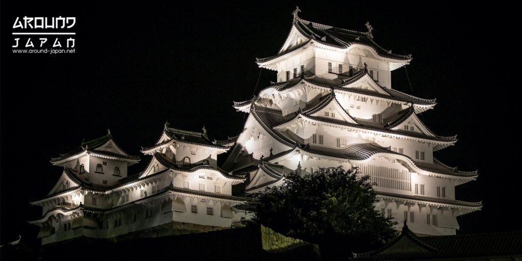 ปราสาทฮิเมจิ (Himeji Castle) ปราสาทนกกะเรียนขาว