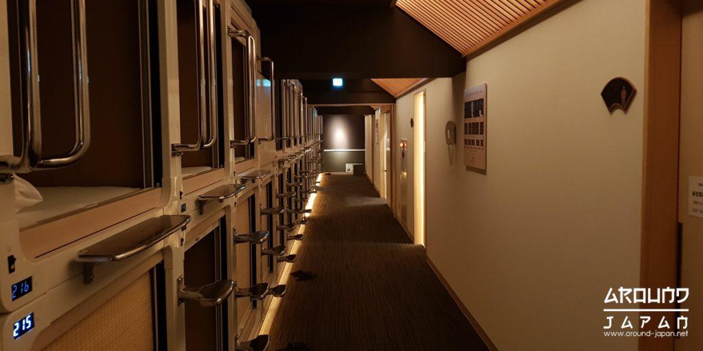 โรงแรม สไตล์แคปซูล ของประเทศญี่ปุ่น