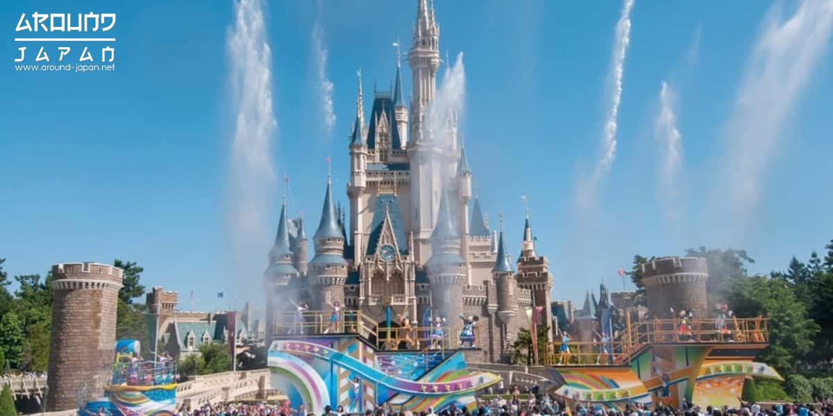Disney resort ชื่อดัง อาณาจักรเทพนิยายแห่งโตเกียว