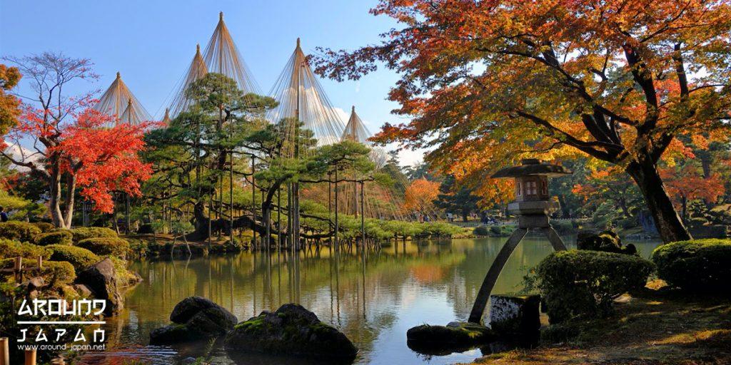 ด่ำดื่มกับบรรยากาศสวนสวยที่ Kenrokuen Garden