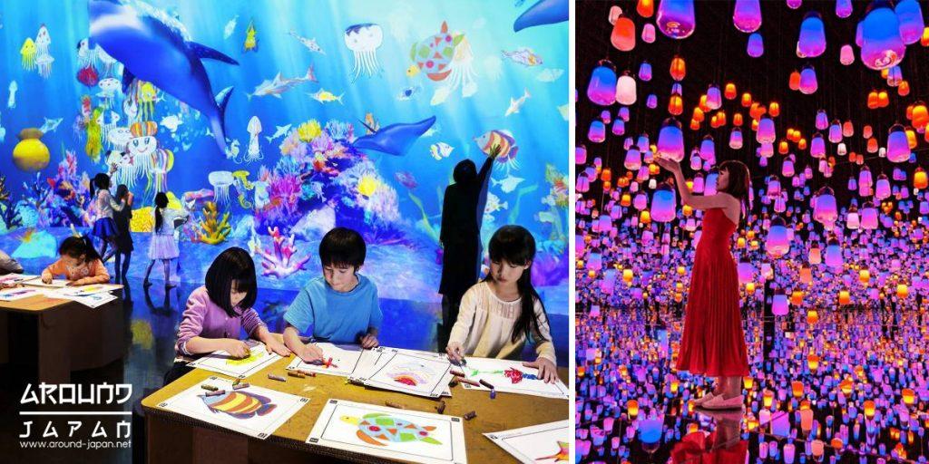 ท่องเที่ยวพิพิธภัณฑ์ ดิจิตอลอาร์ต แสงสีมีชีวิต