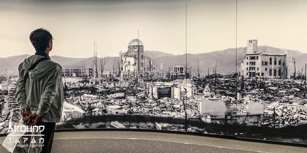 ประวัติศาสตร์ที่น่าสะเทือนใจที่ Hiroshima Peace Memorial Museum