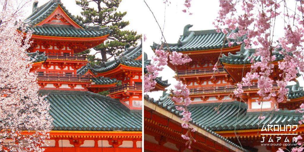 ศาลเจ้าเฮอันจิงกุ ศาลเจ้าชื่อดังแห่งเกียวโต