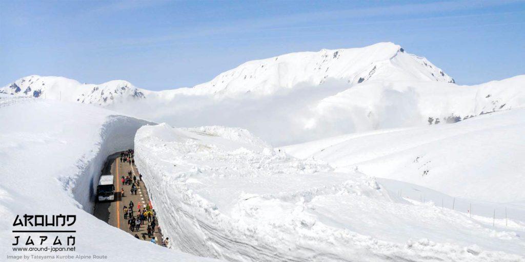 เส้นทางในฝัน Tateyama Kurobe Alpine Route