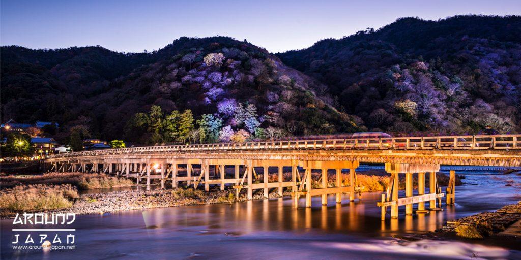 Togetsukyo Bridge กับความสวยงามที่ไม่มีวันลืม
