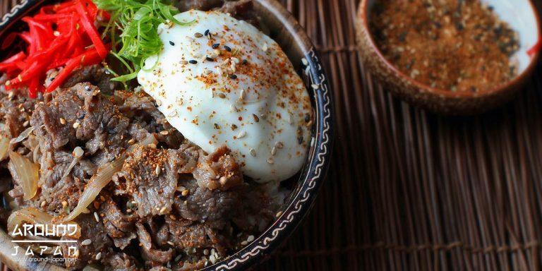 กิวด้งข้าวหน้าเนื้อ ดมบุริญี่ปุ่น