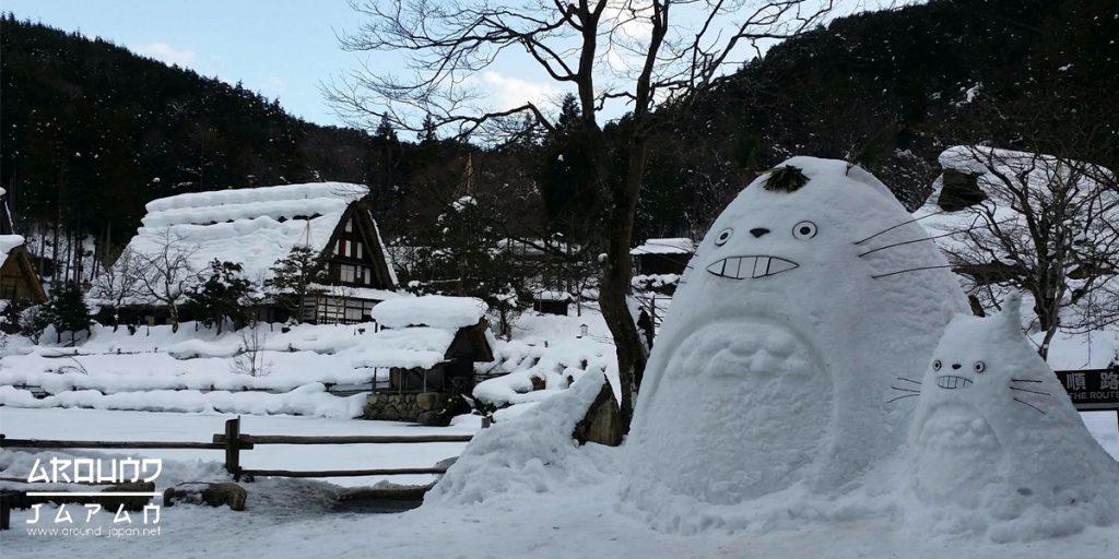 ท่องประวัติศาสตตร์ บ้านเก่ากันที่ Hida no Sato