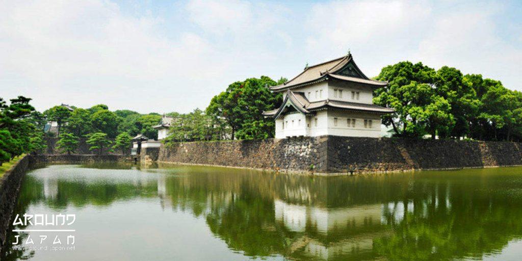 เดินชมสถานที่พระราชวังโตเกียวอิมพีเรียล