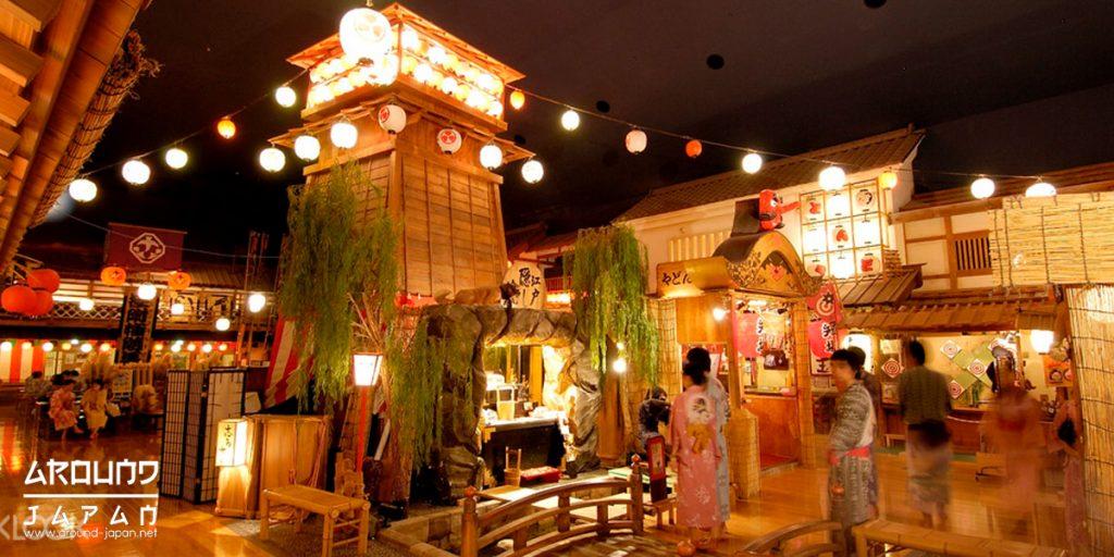 เมืองเอโดะ สวนสนุกย้อนยุคแบบโบราณ