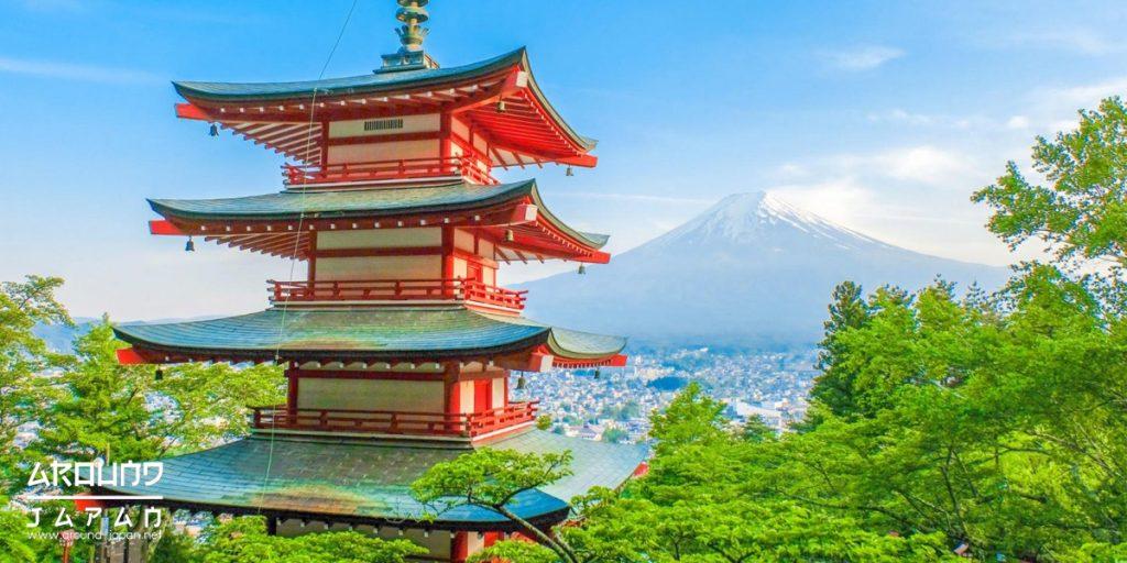 ไหว้พระที่ อาราคุระ ชมภูเขาไฟฟูจิ (Arakura Fuji Sengen Shrine)