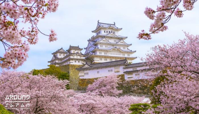 ปราสาทฮิเมะจิ (Himeji Castle) อีกหนึ่งสถานที่ท่องเที่ยวแนะนำในประเทศญี่ปุ่นที่เราอยากเชิญชวนให้ทุกคนได้ลองมาสัมผัสกับความสวยงาม