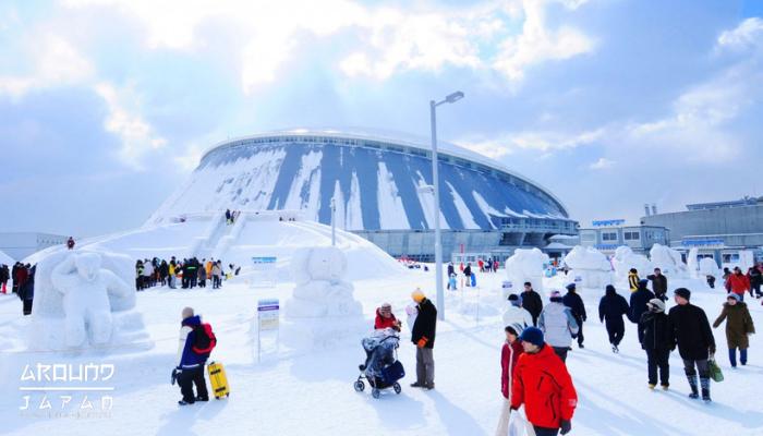 เที่ยวงานเทศกาลซับโปโระ เมืองฮอกไกโด ในดินแดนหิมะของญี่ปุ่น เมืองฮอกไกโดมีที่ชื่อเดิมว่าเมืองเอโซะ มีเมืองหลวงที่ใหญ่ที่สุดในเขตการปกครอง