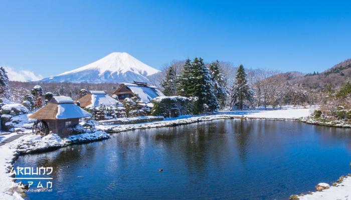 ที่เที่ยวญี่ปุ่นหน้าหนาว โอชิโนะ ฮักไก แห่งภูเขาไฟฟูจิซัง หากนึกถึงประเทศญี่ปุ่น หลาย ๆ คนก็มักจะนึกถึงแลนมาร์คสำคัญที่กลายเป็นสัญลักษณ์